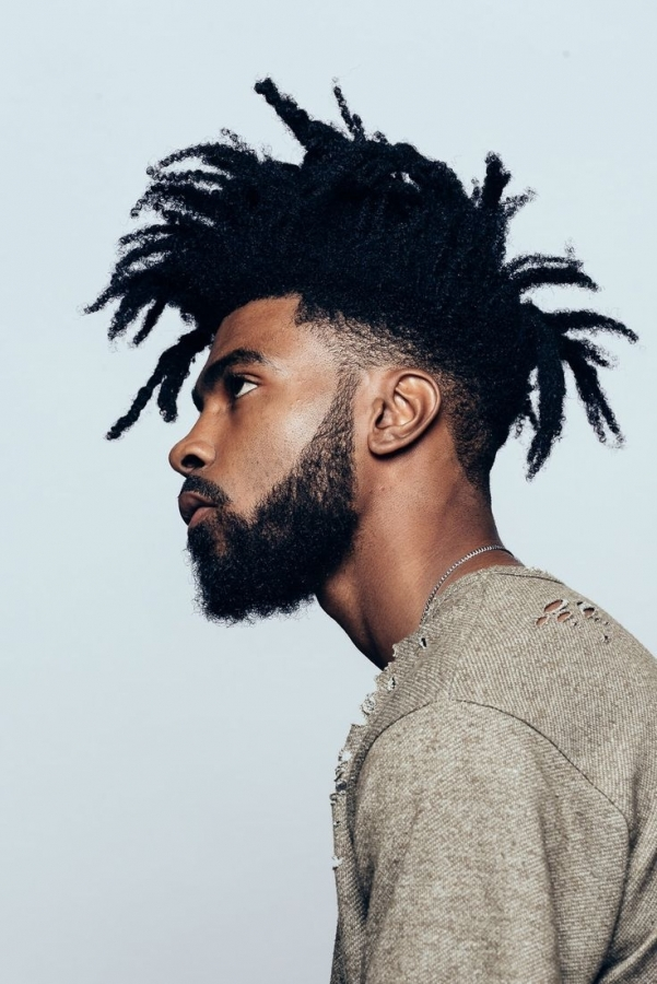 Long-Dreadlocks Cool and Charming Natural Hairstyles for Men