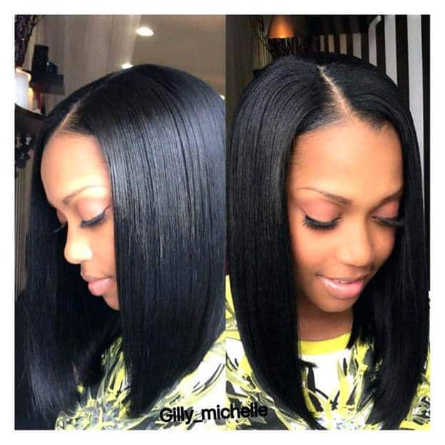 Long-Layered-Bob Sew In Bob Hairstyles To Give You New Looks