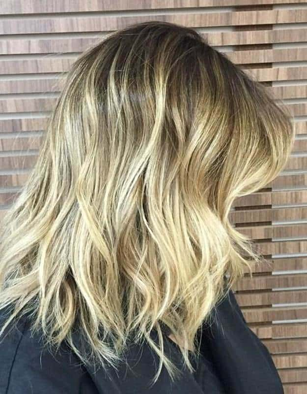 Long-Messy-Ombre-Bob Exotic Messy Bob Hairstyles That Women Love