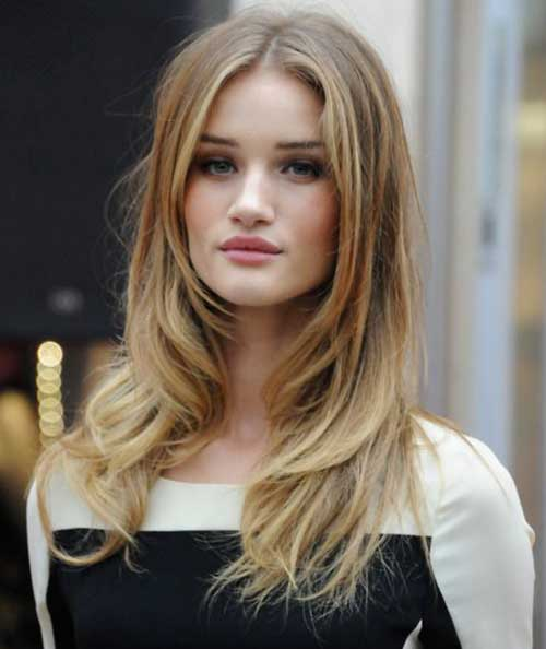 Long-Straight-Hairstyle Most Glamorous Long Straight Hairstyles for Women
