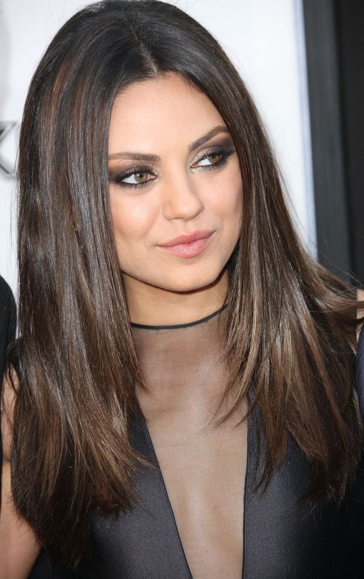 Long-Straight-Layered-Hair Most Glamorous Long Straight Hairstyles for Women
