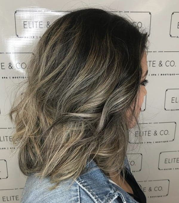 Messy-Bob-with-Highlighted-Ends Exotic Messy Bob Hairstyles That Women Love