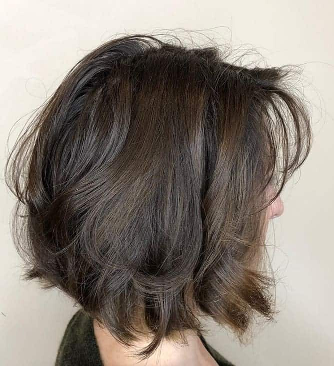 Messy-Bob-with-Soft-Waves Exotic Messy Bob Hairstyles That Women Love