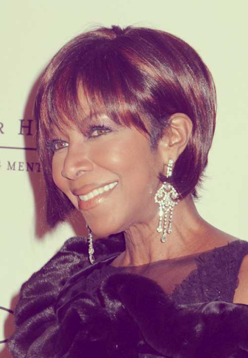 Natalie-Cole-short-haircut Short Hair for Black Women