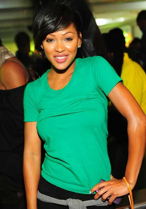 Nice-Pixie-Hair-with-Bangs-for-Black-Women New Short Hairstyles With Bangs For Black Women