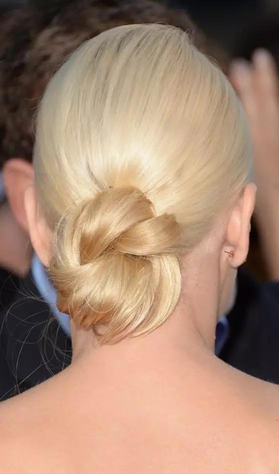 Platinum-Bun Veil Bridal Hairstyles For Your Wedding Day