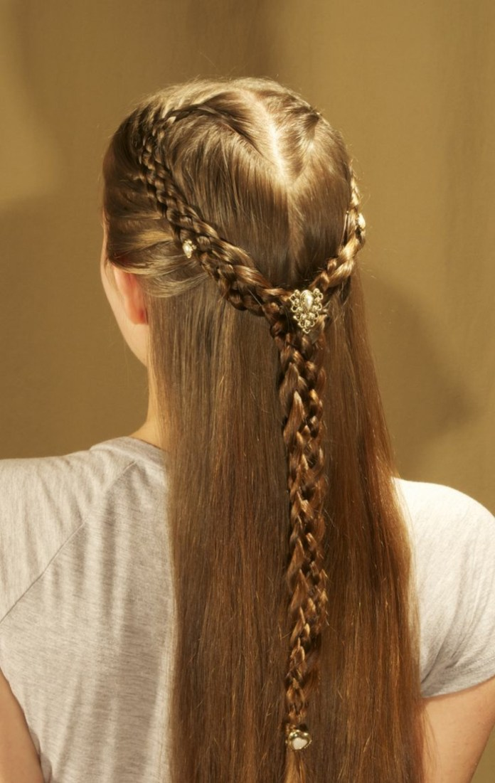 Royal-Golden-Braid Contemporary Hairstyles for an Amazing Appearance