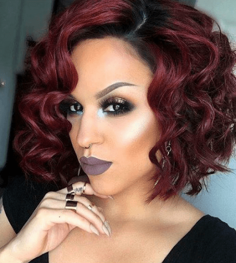 Sew-in-bob-cut-with-curls-1 Sew In Bob Hairstyles To Give You New Looks