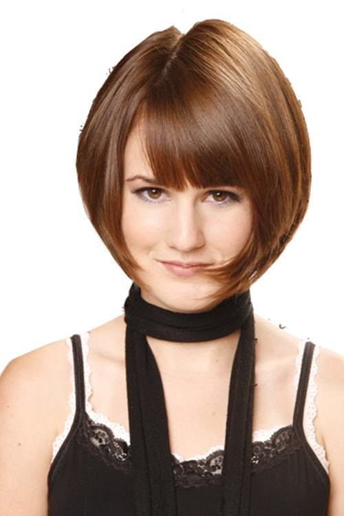 Sew-in-bob-with-volume-on-top Sew In Bob Hairstyles To Give You New Looks