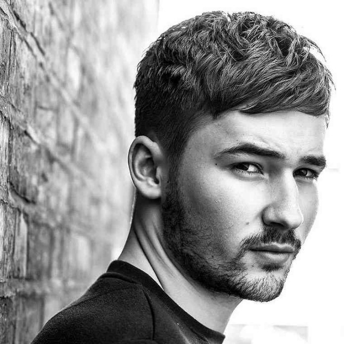 Short-Bangs-Hairstyle Cool and Charming Natural Hairstyles for Men