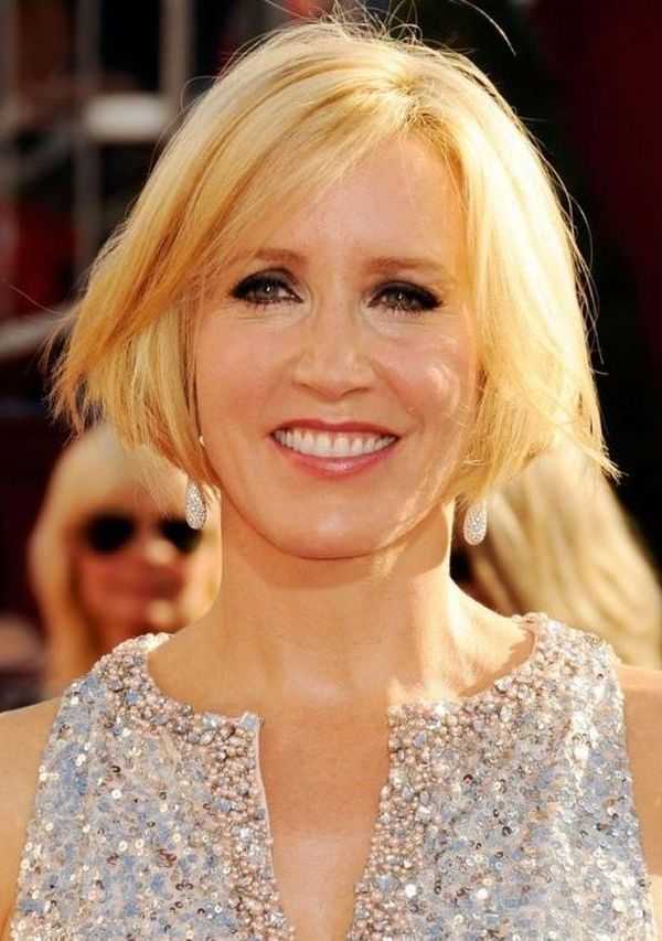 Side-Swept-Blonde-Wispy-Bob Bob Hairstyles for Women Over 50 – Be Hot And Happening