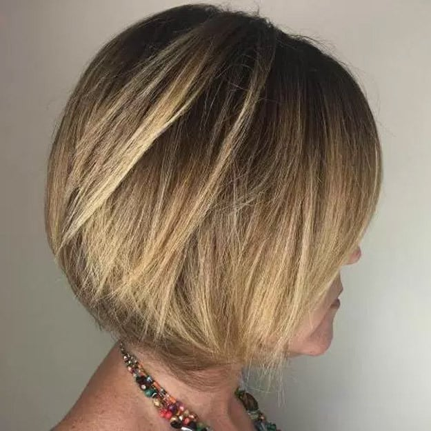 Swe-In-Bob-With-Highlights Sew In Bob Hairstyles To Give You New Looks