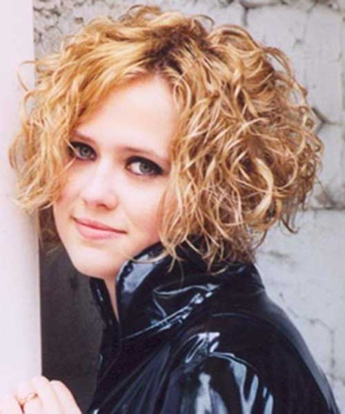 The-Best-Bob-Short-Haircut-for-Naturally-Curly-Hair Best Bob Cuts for Curly Hair