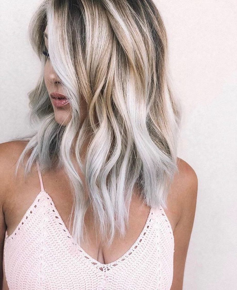 Toasted-Coconut-Hair Contemporary Hairstyles for an Amazing Appearance