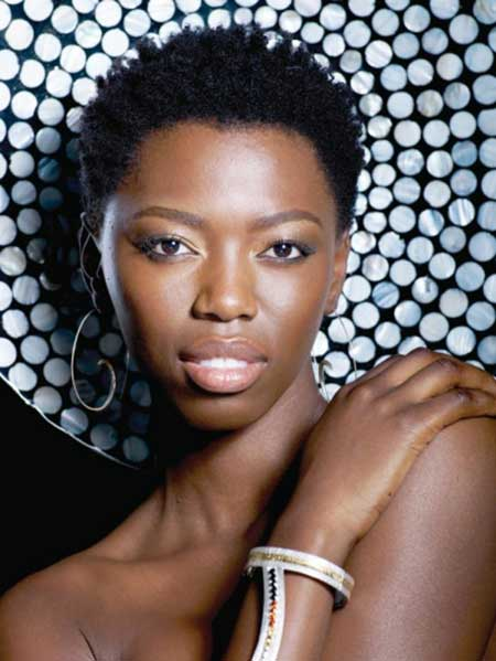 Very-Regale-and-Fabulous-Kinky-Pixie-Cut Short Hairstyles for Black Women 2020