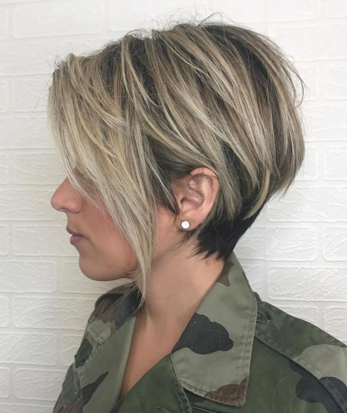 Asymmetrical-Edgy-Haircut Edgy Haircuts for Women to Look Super Model