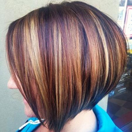 Asymmetrical-Short-Bob-Hairdo-for-Ladies Short Bob Hairstyles for Ladies