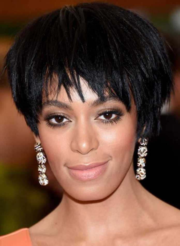 Black-Bob-with-Jagged-Fringes Edgy Haircuts for Women to Look Super Model