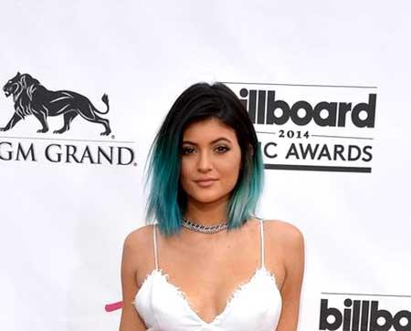 Black-Hair-with-Blue-Ends-Hair-Color-Idea Short Hair Colors Ideas 2020