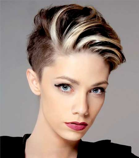Blonde-Colored-Hair-for-Girls Short Hair Colors Ideas 2020