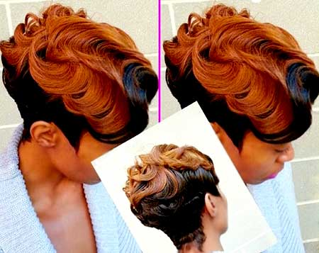 Brown-and-Black-Hair-Color-Idea Short Hair Colors Ideas 2020