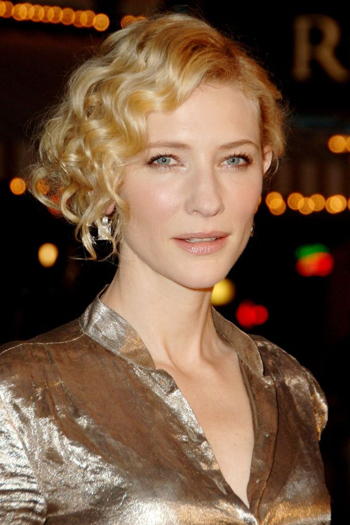 Cate-Blanchetts-Old-Hollywood-Glamour Stunning Curly Hairstyles That Are All About That Texture