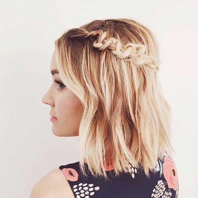 Chain-Side-Braid Mesmerizing Back to School Hairstyles