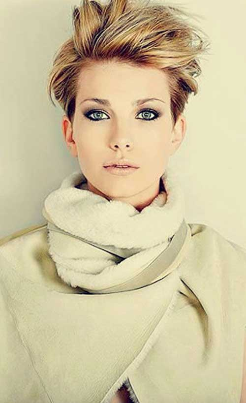 Colored-Short-Hair-Style Short Hair Colors 2020