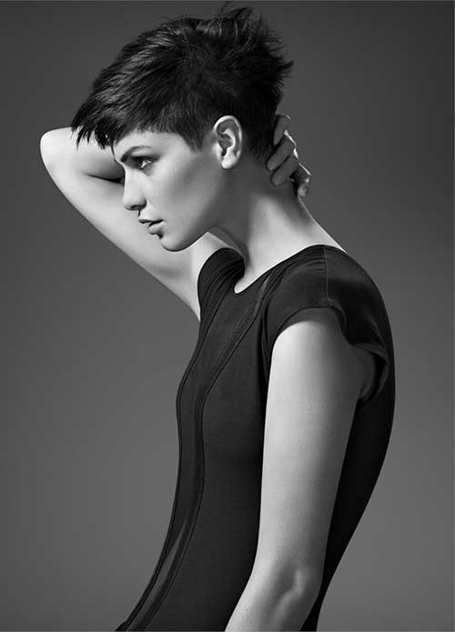 Cool-Short-Faded-Pixie-for-Girls Short Trendy Hairstyles 2020