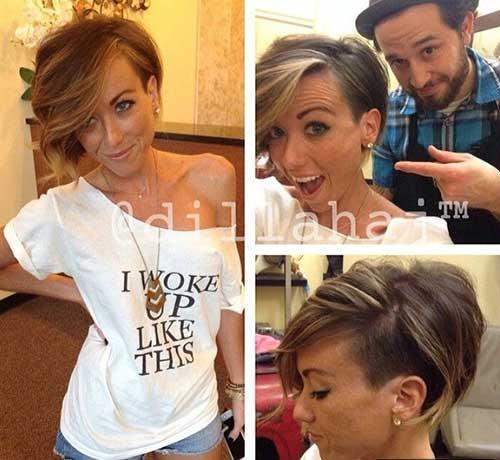 Cute-Hairstyle-for-Short-Hair Cute Short Hair Cuts For Girls