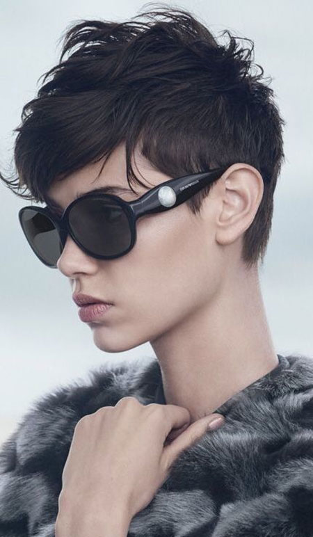 Cute-Messy-and-Edgy-Short-Haircut Pixie haircuts are undoubtedly the best short haircuts for you