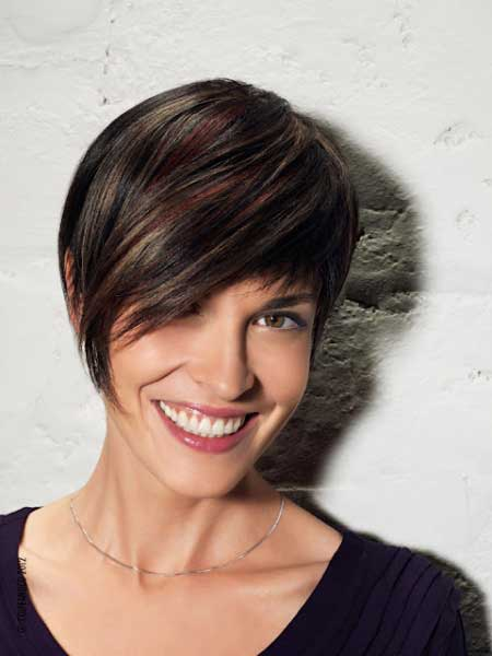 Dark-Red-and-Blonde-Short-Hair Short hair color ideas
