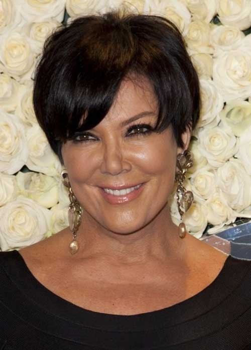 Fine-Pixie-Dark-Hair-for-Over-50 Pictures Of Short Haircuts For Over 50