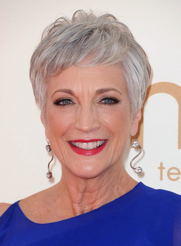 Grey-Pixie Hairstyles for Women Over 60 To Look Stylish