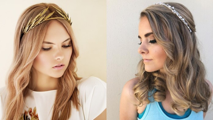 Hairstyles-with-Tiara Hairstyles with Tiara for Glam and Fab Look