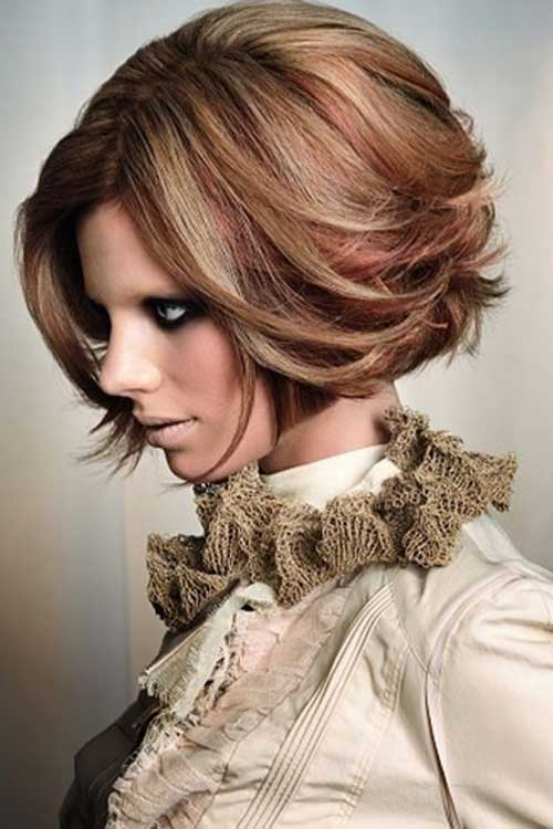 Highlighted-Hair-Color-for-Short-Hair Short Hair Colors 2020