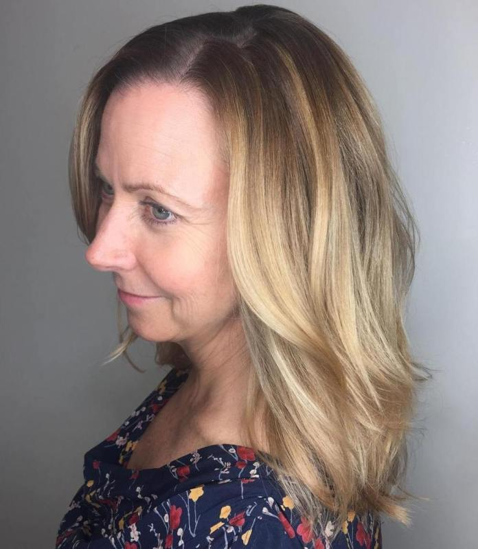 Keep-Your-Length Gorgeous Hairstyles and Haircuts for Women Over 40