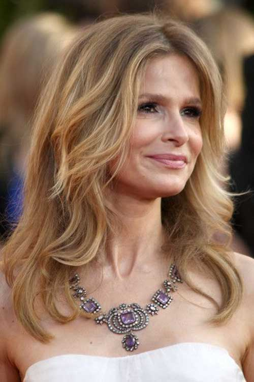 Long-Layered-Hairstyle-for-Older-Women Long Hairstyles for Women Over 50 – Look Trendy And Fashionable