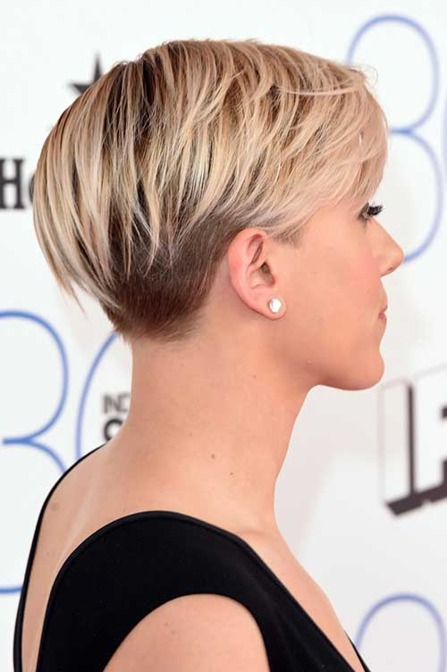 Lovely-Pixie-Hairstyle-with-Undercut Pixie Hair Styles for 2020