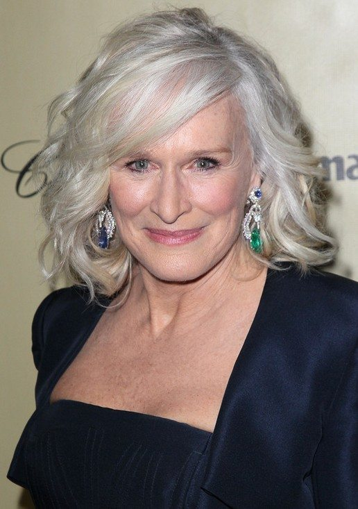 Medium-Blonde-Wavy-Curly-Hairstyle Curly Hairstyles for Women Over 50