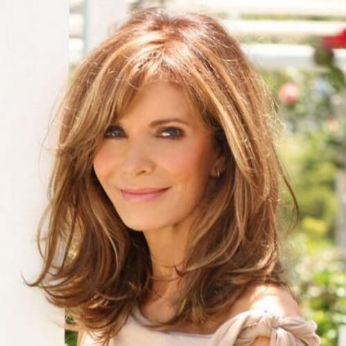 Medium-Length-Hairstyle-for-Older-Women Medium Hairstyles for Women Over 50