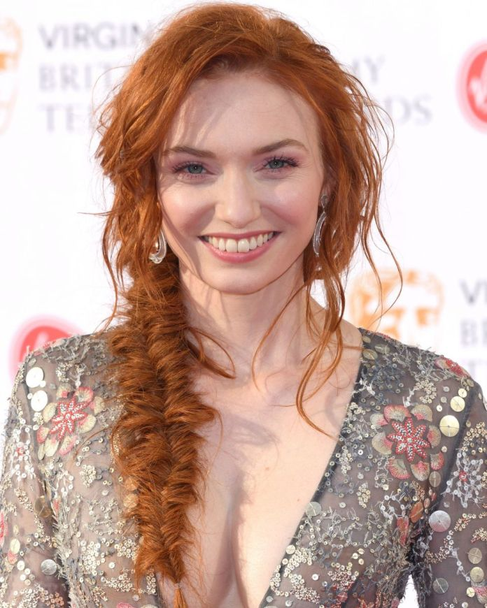 Messy-Hair-with-Fishtail-Braids Redhead Hairstyles for Sultry and Sassy Look