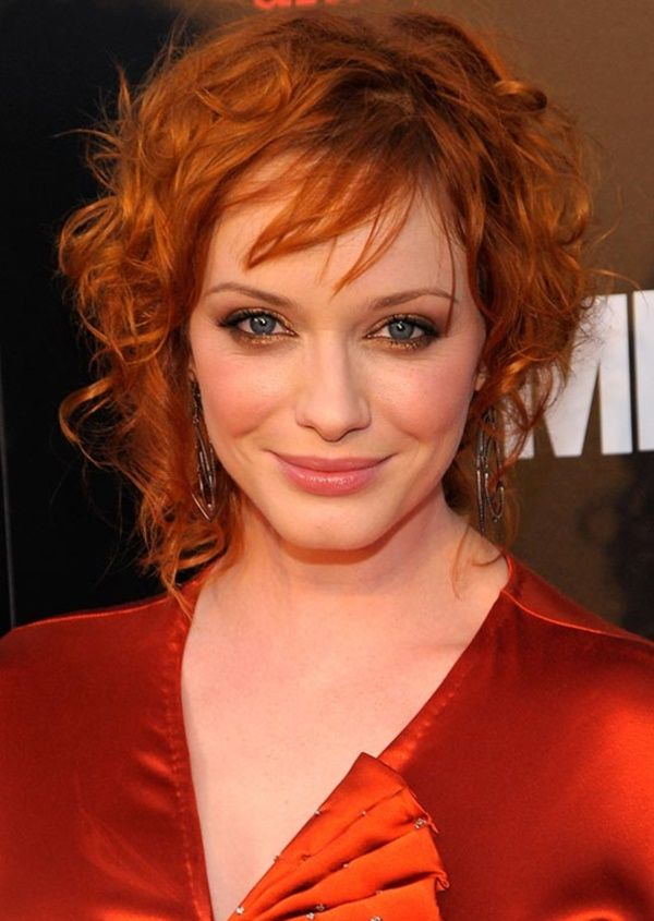 Messy-Shaggy-Hairstyle Redhead Hairstyles for Sultry and Sassy Look