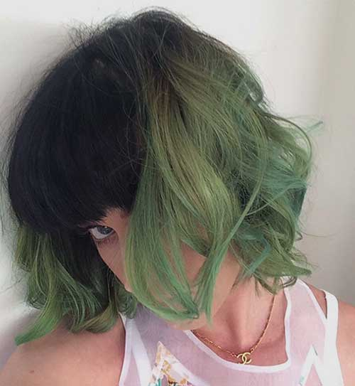 Pastel-Short-Hair-Colour-Idea Short Hair Colors 2020