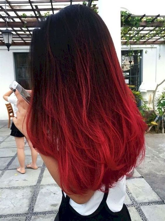Red-hair-color Chirmast Time, It's Time To Dye Your Hair Color To Red