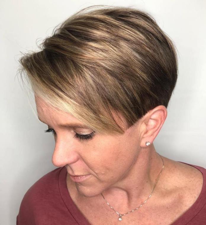 Sassy-Short Gorgeous Hairstyles and Haircuts for Women Over 40