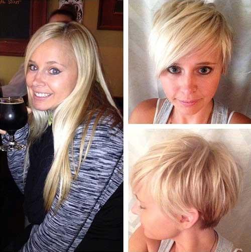 Short-Trendy-Pixie-for-Girls Short Trendy Hairstyles 2020