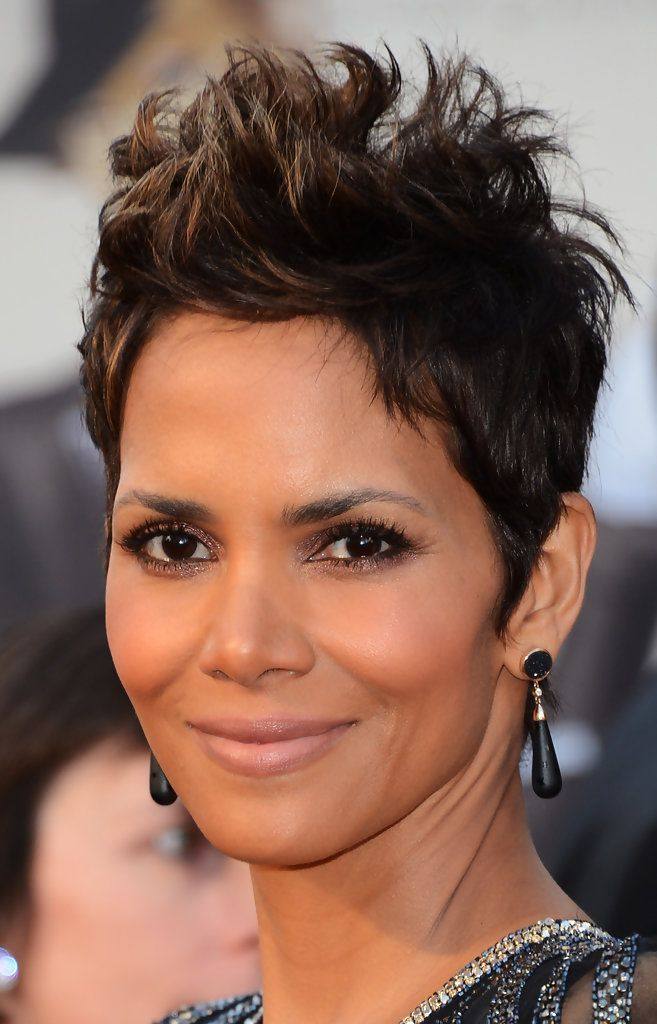 Short-Wavy-Spikes-with-Brown-Matt-Tone Short Hairstyles for Black Girls to Look Flawless
