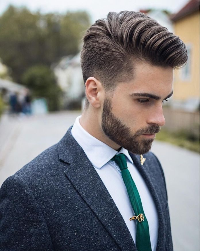 Side-Comb-Hairstyle Stylish Hairstyles for Men to Look Attractive