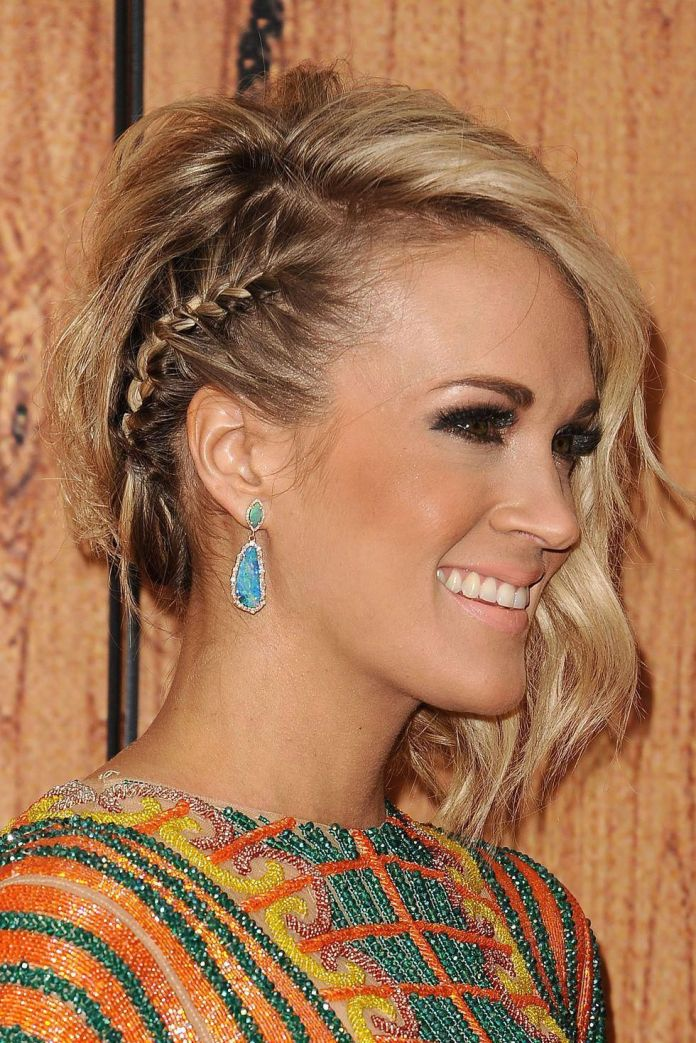Side-Parted-Wavy-Hair Braids Hairstyles for an Ultimate Princess Look
